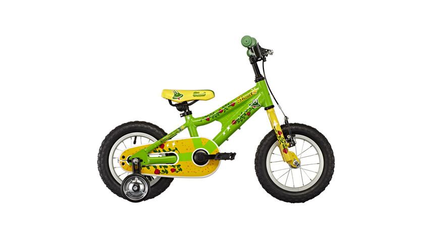Ghost Powerkid 12 Børnecykel gul/grøn